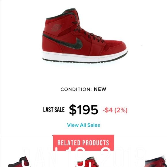 buy popular 742f2 90125 Jordan 1 Retro Premier Red Gucci NWT